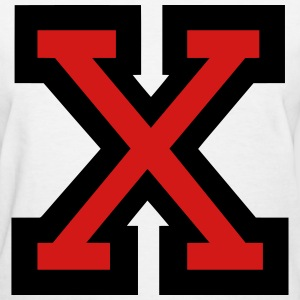 Letter X Filled - Women's T-Shirt