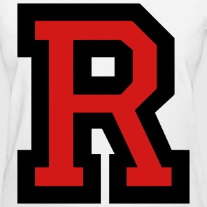 Letter R Filled - Women's T-Shirt