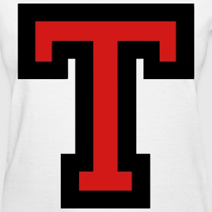 Letter T Filled - Women's T-Shirt