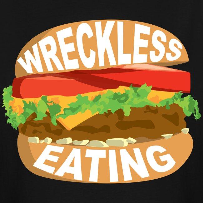 Wreckless Eating Burger Tall Shirt