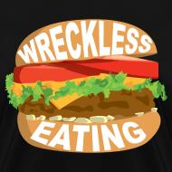 Design ~ Wreckless Eating Burger Shirt (Women's)