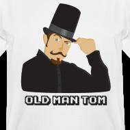 Design ~ Old Man Tom Stay Classy Tall Shirt