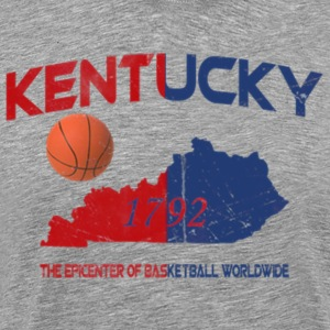 Kentucky Epicenter of Basketball Worldwide T-Shirt - Men's Premium T-Shirt