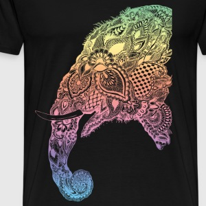 elephant spectrum - Men's Premium T-Shirt
