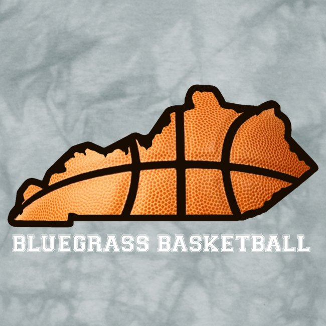Basketball State Tee (White Font)