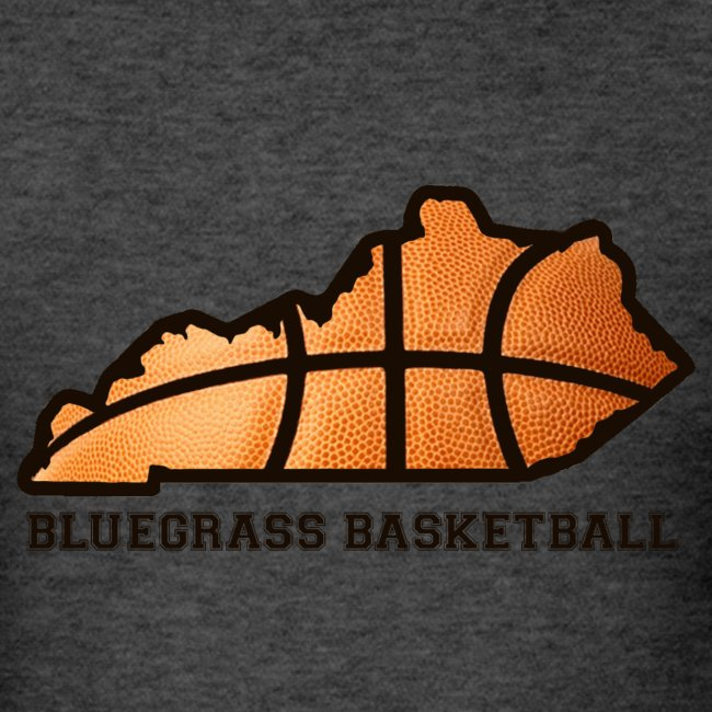 Basketball State Tee (Black Font)