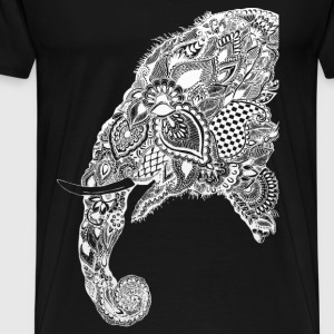 half elephant - Men's Premium T-Shirt