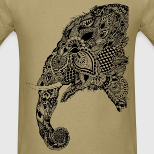 ELEPHANT HALF - Men's T-Shirt