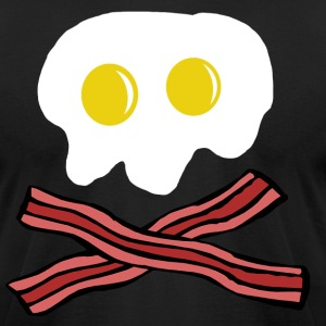 EGG SKULLBONE - Men's T-Shirt by American Apparel