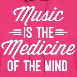 Music Medicine Of The Mind  Hoodies - Women's Hoodie