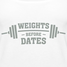 Weights Before Dates Tanks