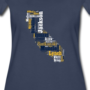 All Time California Football Greats Ladies T-Shirt - Women's Premium T-Shirt