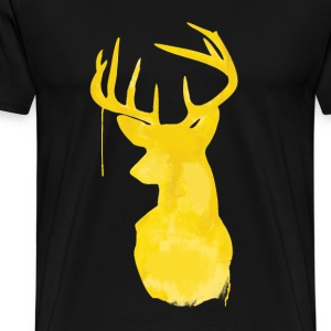 deer paint - Men's Premium T-Shirt