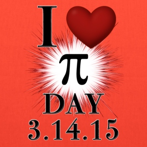 I Love Pi Day 3.14.15 Tote Bag - Tote Bag