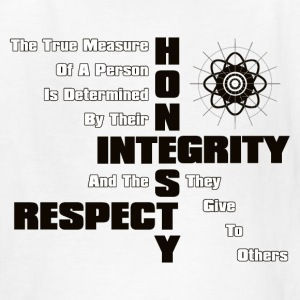 Honesty Integrity Respect Kids T-Shirt - Kids' T-Shirt