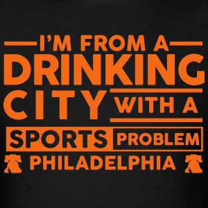 Drinking City Philly T-Shirts - Men's T-Shirt