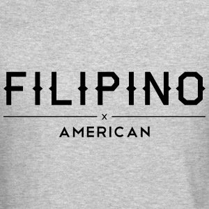 Filipino American Crewneck Sweatshirt by AiReal - Crewneck Sweatshirt