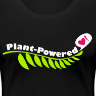 Design ~ Plant-Powered Black T-Shirt