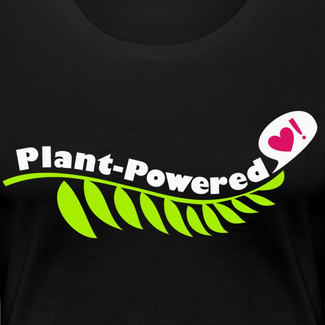 Plant-Powered Black T-Shirt