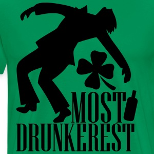 Most drunkerest T-Shirts - Men's Premium T-Shirt