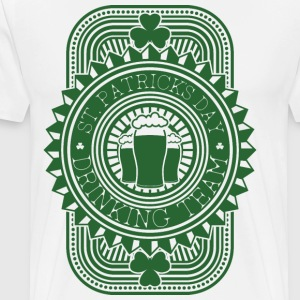 St Patrick's Day Drinking Team T-Shirts - Men's Premium T-Shirt