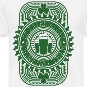 St Patrick's Day Drinking Team T-shirts - T-shirt premium pour hommes