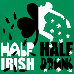Half irish, half drunk T-Shirts - Men's Premium T-Shirt