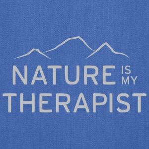 Nature is my therapist in light grey Bags & backpacks - Tote Bag