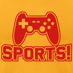 SPORTS! T-Shirts - Men's T-Shirt by American Apparel