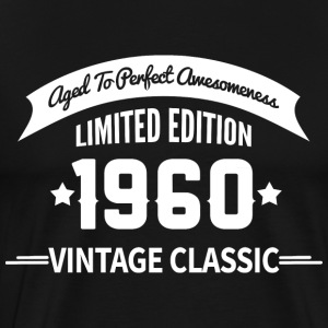 Birthday 1960 Vintage Classic Aged To Perfection - Men's Premium T-Shirt