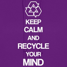 Recycle Mind Hoodies