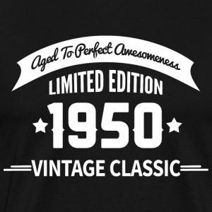 Birthday 1950 Vintage Classic Aged To Perfection - Men's Premium T-Shirt