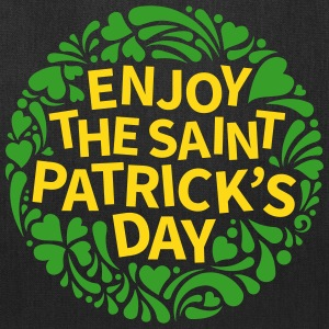 Enjoy St Patricks Day Bags & backpacks - Tote Bag