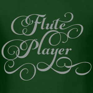Flute Player Script T-Shirts - Men's T-Shirt