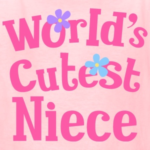 Worlds Cutest Niece Kids' Shirts - Kids' T-Shirt
