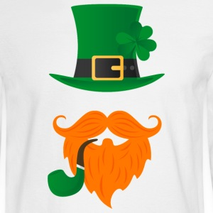 Leprechaun - St Patricks Long Sleeve Shirts - Men's Long Sleeve T-Shirt