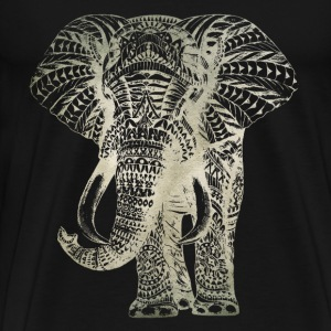 sketch elephant - Men's Premium T-Shirt