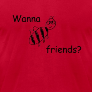 bee_friends T-Shirts - Men's T-Shirt by American Apparel