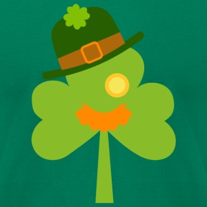 Funny Shamrock - St. Patrick's Day T-Shirts - Men's T-Shirt by American Apparel