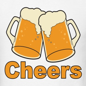 cheers - Men's T-Shirt