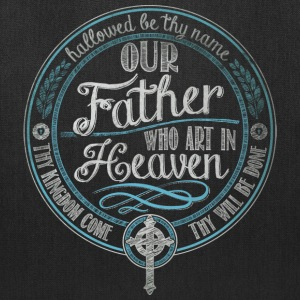 Our Father Jesus Prayer - Tote Bag