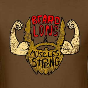 Beard & Muscles T-Shirts - Men's T-Shirt