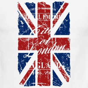 Union Jack - London - Vintage Look  T-Shirts - Men's Ringer T-Shirt