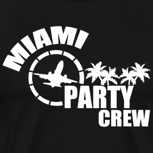 miami party crew T-Shirts - Men's Premium T-Shirt