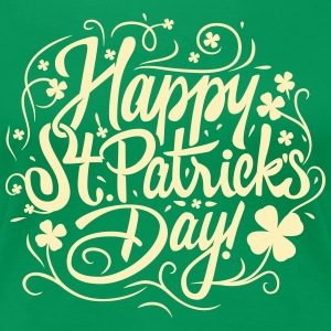 Happy St Patricks Day Women's T-Shirts - Women's Premium T-Shirt
