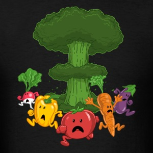 Vegetable Armageddon - Men's T-Shirt