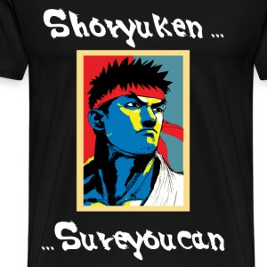 Sure You Can (Ryu) - Men's Premium T-Shirt