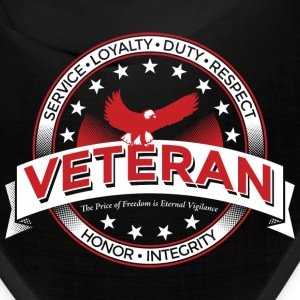 Veteran Army Navy Marines Soldier Remembrance - Bandana