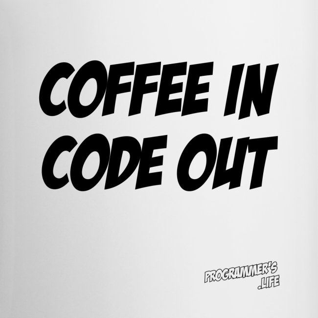 Coffee In Code Out Mug
