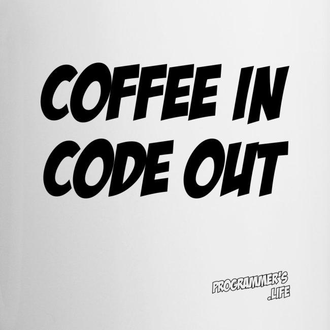 Coffee In Code Out Mug